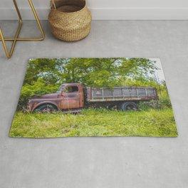 Farm Truck, Arena, North Dakota 5 Rug