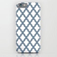 Navy Moroccan iPhone 6s Slim Case