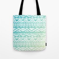 tribal Tote Bags featuring Tribal  by Julia