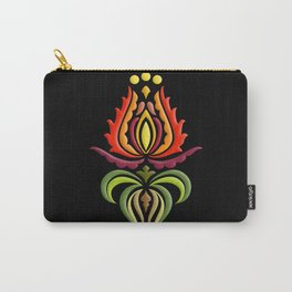 Fancy Mantle on Black Carry-All Pouch