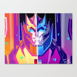 new paint, same problems Canvas Print