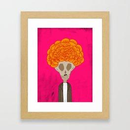 Cemcalacasúchil Framed Art Print