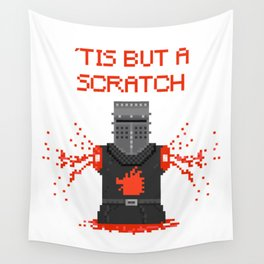 Monty Phyton black knight Wall Tapestry