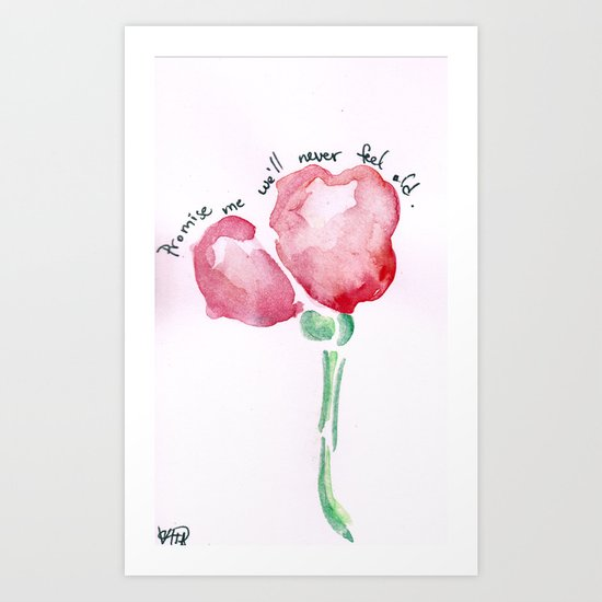 Promise Me Art Print
