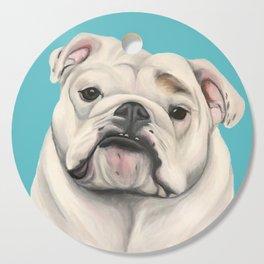 Sweet Little English Bulldog Cutting Board