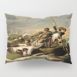 John Singleton Copley's Watson and the Shark Pillow Sham