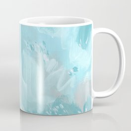 Abstract turquoise carnival Coffee Mug