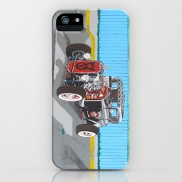 back and red hotrod iPhone Case