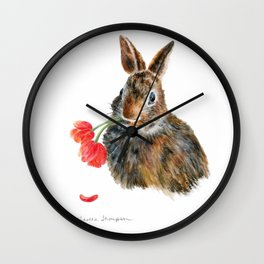 Double Trouble by Teresa Thompson Wall Clock