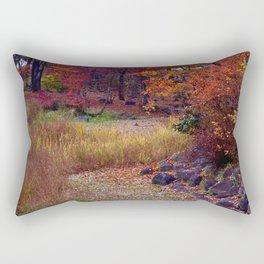 Fall Foliage in Nikko, Japan Rectangular Pillow