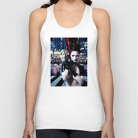 android Tank Tops featuring Android Dreams by Danielle Tanimura