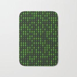 Binary Code Inside Bath Mat