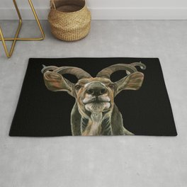 Greater African Kudu Painting Rug