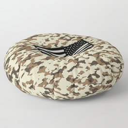 Camouflage: Arid Desert III Floor Pillow
