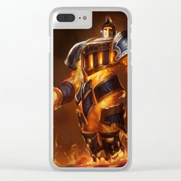 Scorched Earth Xerath League of Legends Clear iPhone Case