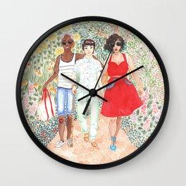 August 6 Wall Clock