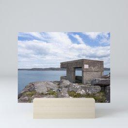 Searchlight building at Cove Battery 2 Mini Art Print