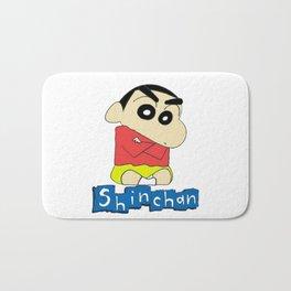 shin chan 1 Bath Mat