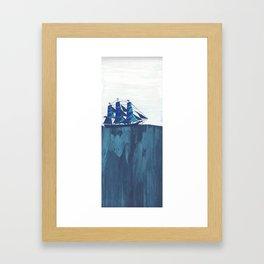 Tiny Boat Framed Art Print