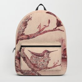 Nested Hummingbird Backpack