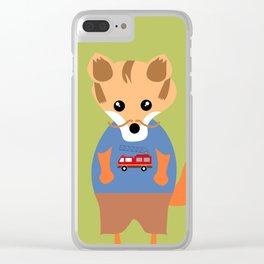 Raphael, The Fox Clear iPhone Case