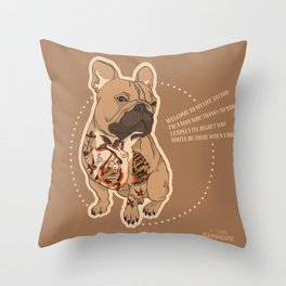Pets Ink - JS Throw Pillow