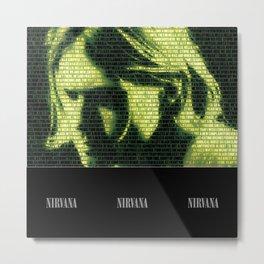 Smells Like Nirvana Metal Print