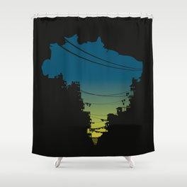 Brazil Shower Curtain