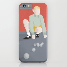 The game of marbles iPhone Case