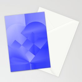Danish Heart Blues Stationery Cards