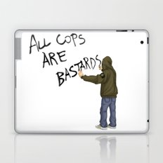 All Cops Are Bastard !!! Laptop & iPad Skin