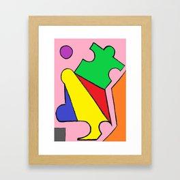 Jigsaw Framed Art Print