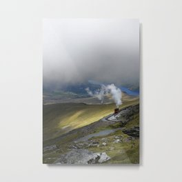 Snowdonia Mountain Railway Metal Print