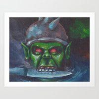 Its not easy being green. Art Print