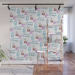 Squares Intestines Wall Mural