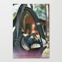 vans Canvas Prints featuring Vans by Tyler Vespa
