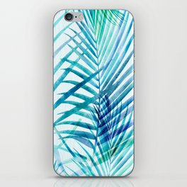 Tropical Palm Pattern iPhone Skin