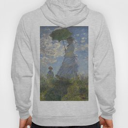 Art Woman with a Parasol Madame Monet and her son Claude Monet Hoody