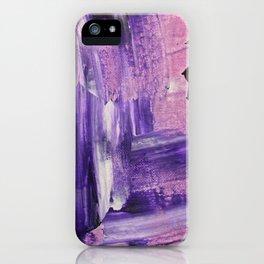 Purple Mess iPhone Case