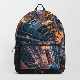 Aerial City Skyline (Color) Backpack