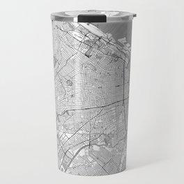 Buenos Aires Map Line Travel Mug
