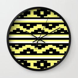 Etnico Yellow version Wall Clock