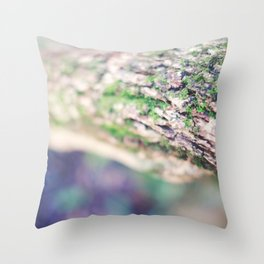 Life in the Undergrowth 01 Throw Pillow