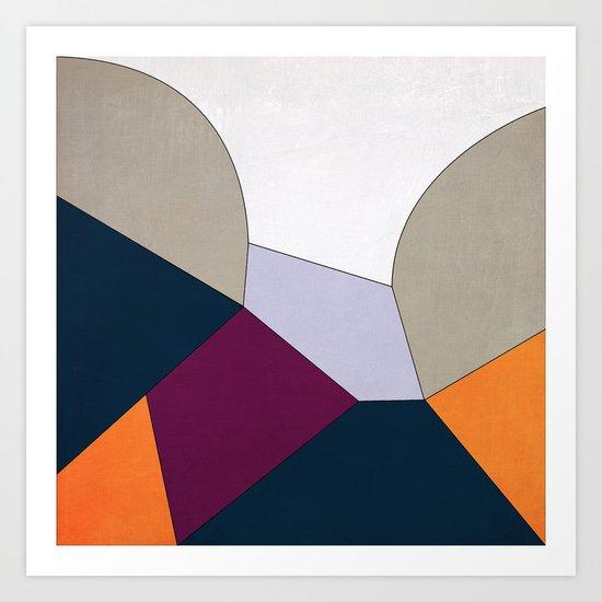 Geometric YM Art Print