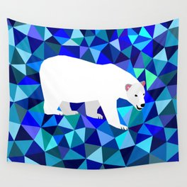 Rider of Icebergs Wall Tapestry