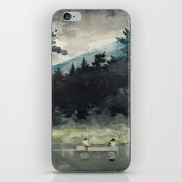Winslow Homer - A Fisherman's Day, 1889 iPhone Skin