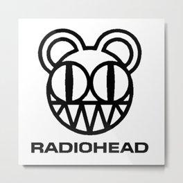 Radio head Metal Print