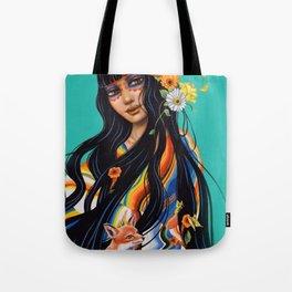 Mexicana Azul Tote Bag