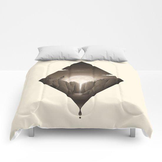 Liquid Moon Comforters