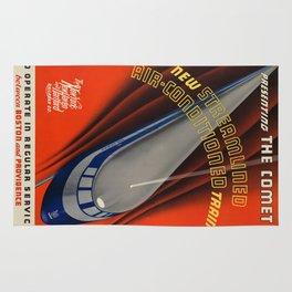 Vintage poster - The Comet Rug